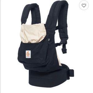 Other - Ergobaby baby carrier original black and beige